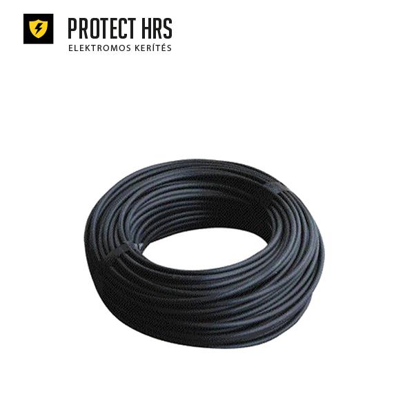HT Kábel - nagyfeszültségű, fekete (100 fm/tk)