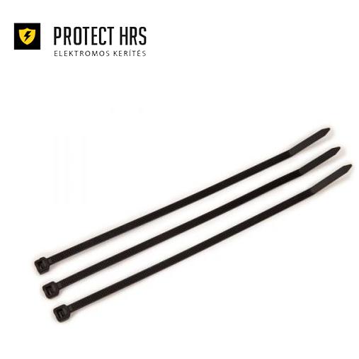 Elematic kábelkötegelő fekete 4,5x290mm (100db/cs)
