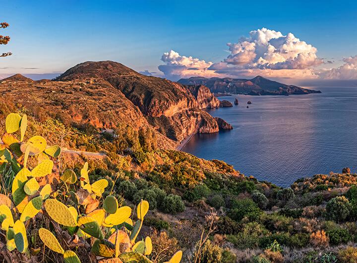 Lipari-szigetek és Szicília