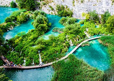 Plitvicei-tavak és az Isztriai-félsziget