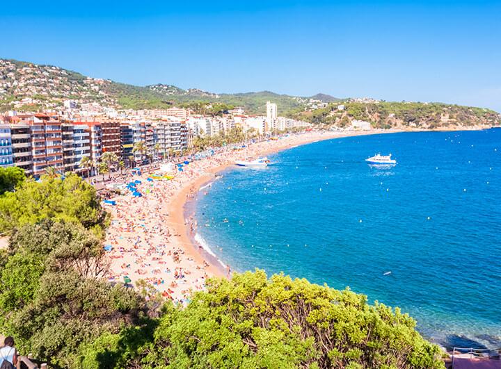 Nyaralás a spanyol tengerparton