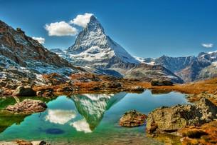 Dolomitok, Matterhorn, Mont-Blanc