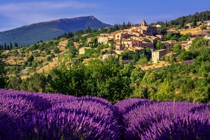 Dél-Franciaországban és Észak-Olaszországban
