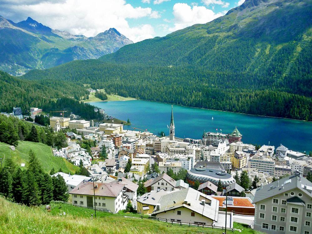 Tiroltól St. Moritzig