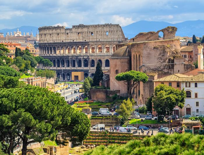 Az olasz főváros szépségei