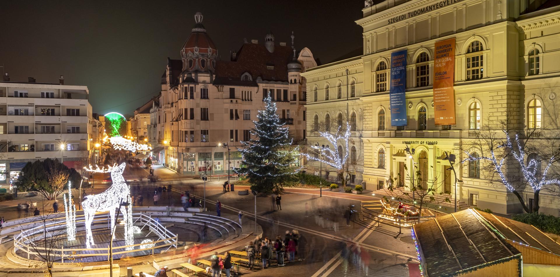 Szeged - Makó - Mezőhegyes - Szarvas - Kecskemét