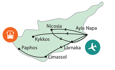 Ciprus, a szerelem szigete3 csillagos szálloda