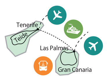 Az utazás térképe