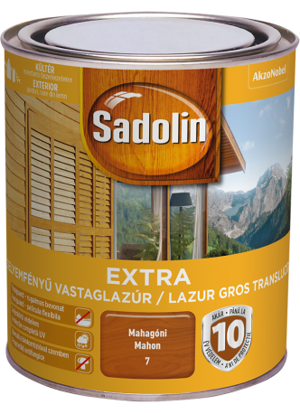 Sadolin extra paliszander 2,5l BAUplaza Kft.