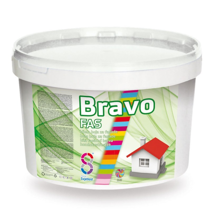 Bravo Fas kültéri hom festék 2l BAUplaza Kft.
