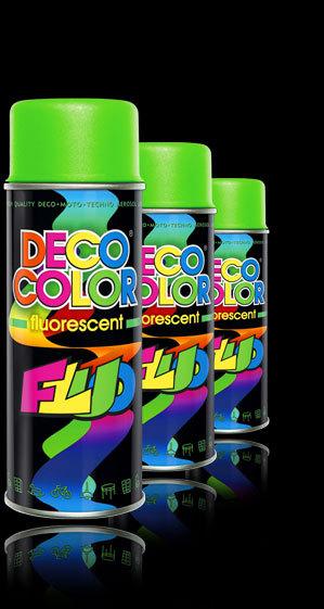 Deco Color fluoreszkáló sárga 400ml BAUplaza Kft.