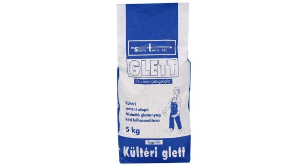Széria glett kültéri 5kg (1,2kg/m2/mm) BAUplaza Kft.