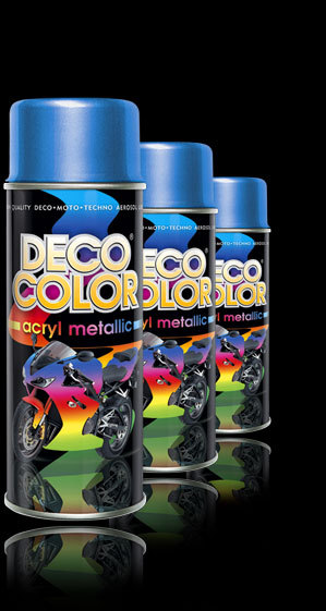 Deco Color Metal fekete 400ml BAUplaza Kft.