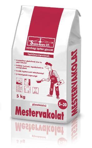 Széria glett Mestervakolat 5-30mm 5kg BAUplaza Kft.
