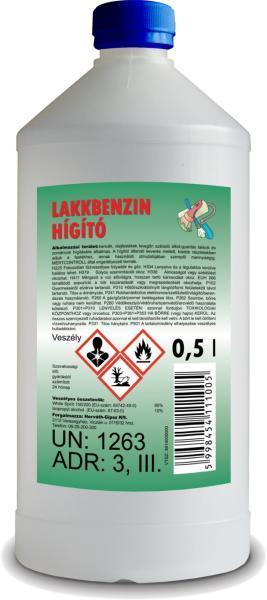 Lakkbenzin higitó 0,5l BAUplaza Kft.