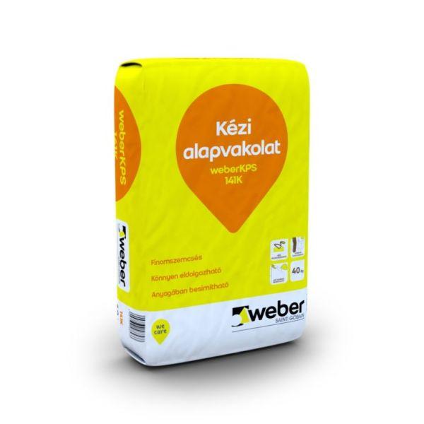 Weber Alapvakolat kézi 141K 40kg/zsák 30zs/# BAUplaza Kft.