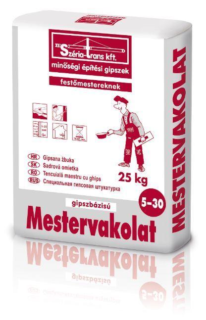 Széria glett Mestervakolat 5-30mm 25kg (40#) BAUplaza Kft.