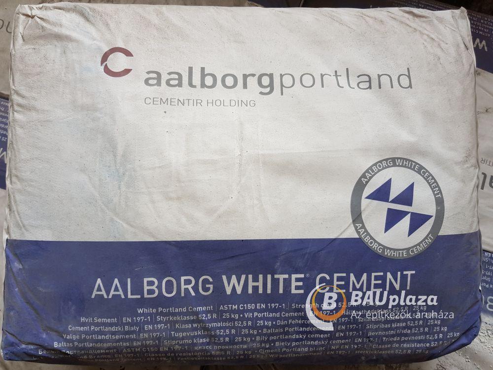 Fehér cement 25 kg/zsák (60db/#) - Dán cement AALBORG BAUplaza Kft.