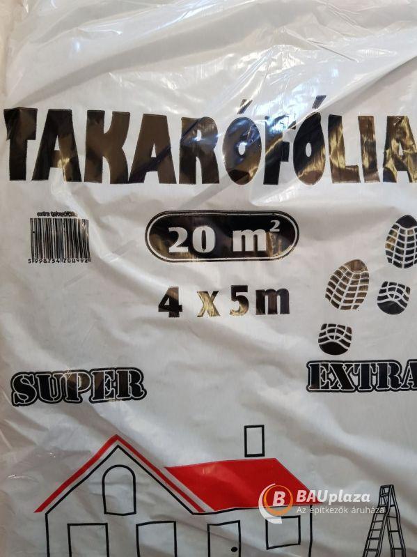 Takarófólia létrázható 4x5m (extra) (5db/#) BAUplaza Kft.