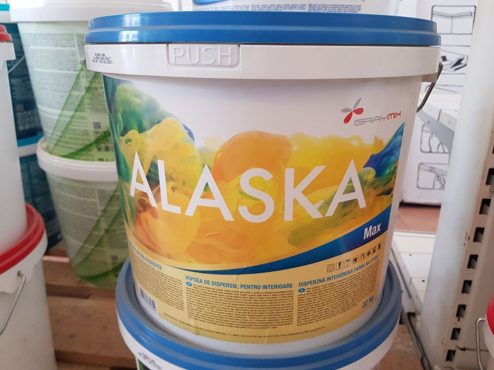 Alaska Limited beltéri falfesték 14l BAUplaza Kft.