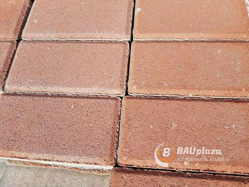 Térkő DoBeton 10x20 6cm-es piros 9,6m2/# BAUplaza Kft.