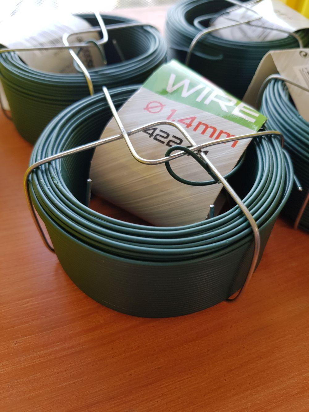 Kötöződrót PVC-s zöld 50m/ tek 1,4mm BAUplaza Kft.