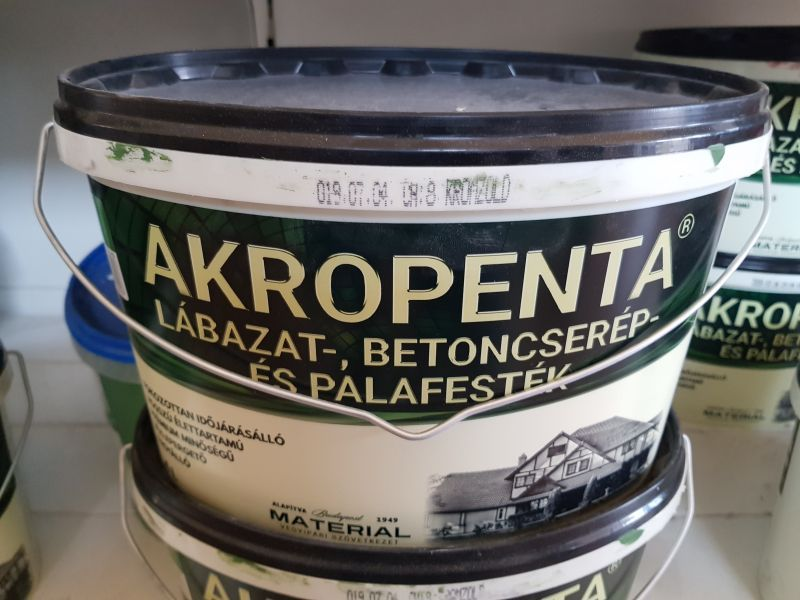 Akropenta P40 zöld 4l (6-8m2/l 1rétegben) BAUplaza Kft.