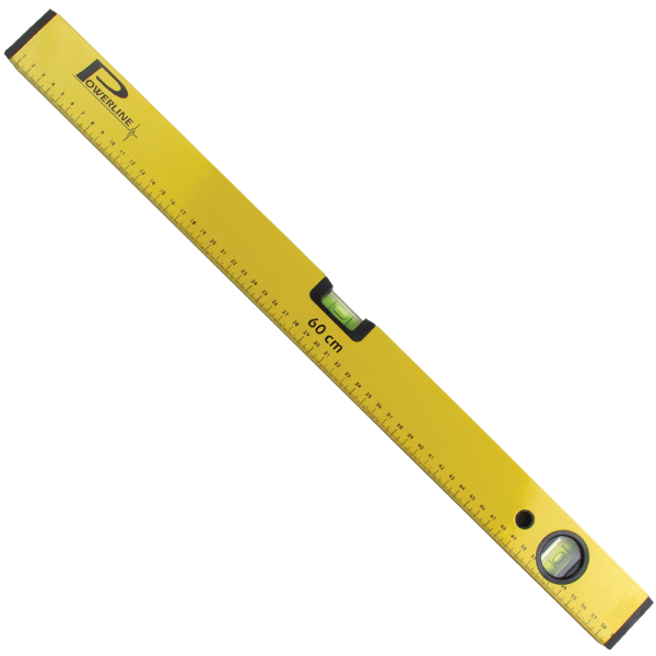 Vízmérték 120cm Powerline sárga BAUplaza Kft.