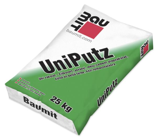 Baumit Alap és simító vakolat UniPutz 25kg/zsák BAUplaza Kft.