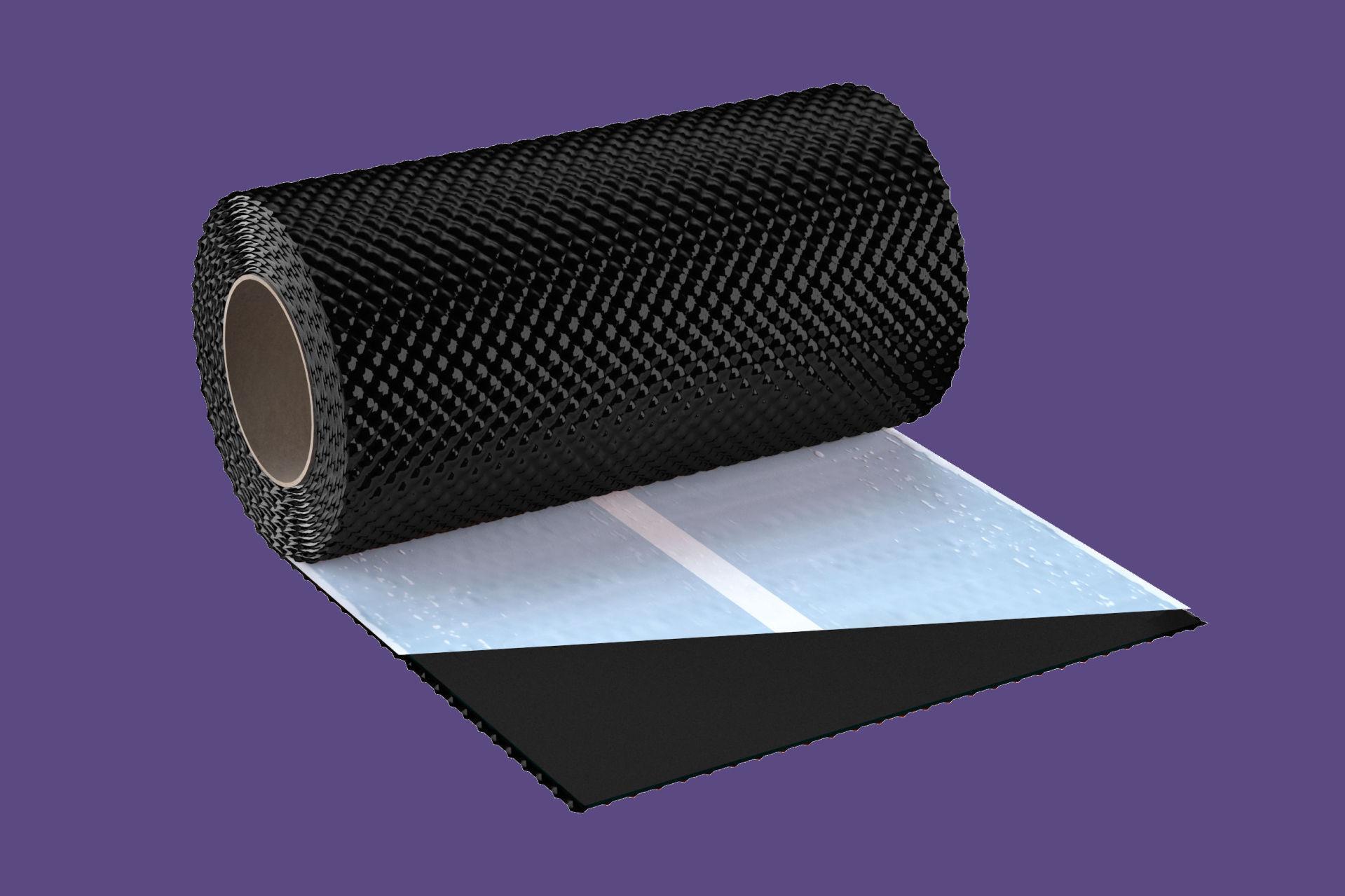 Kéményszegély univerzális 30cmx5fm tekercses antracit BAUplaza Kft.