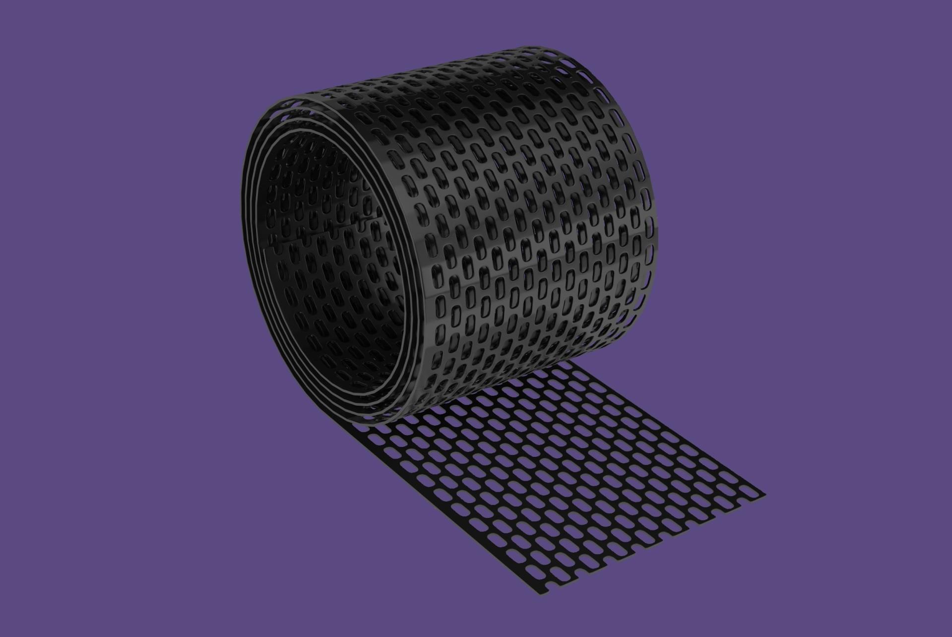 Cserép kieg. szellőző szalag PVC 10cmx5m / antracit BAUplaza Kft.