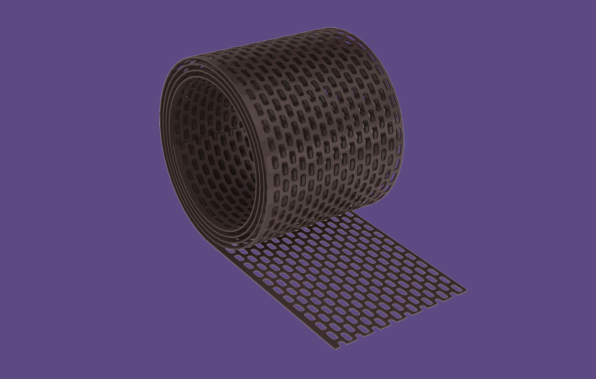 Cserép kieg. szellőző szalag PVC 10cmx5m / barna BAUplaza Kft.