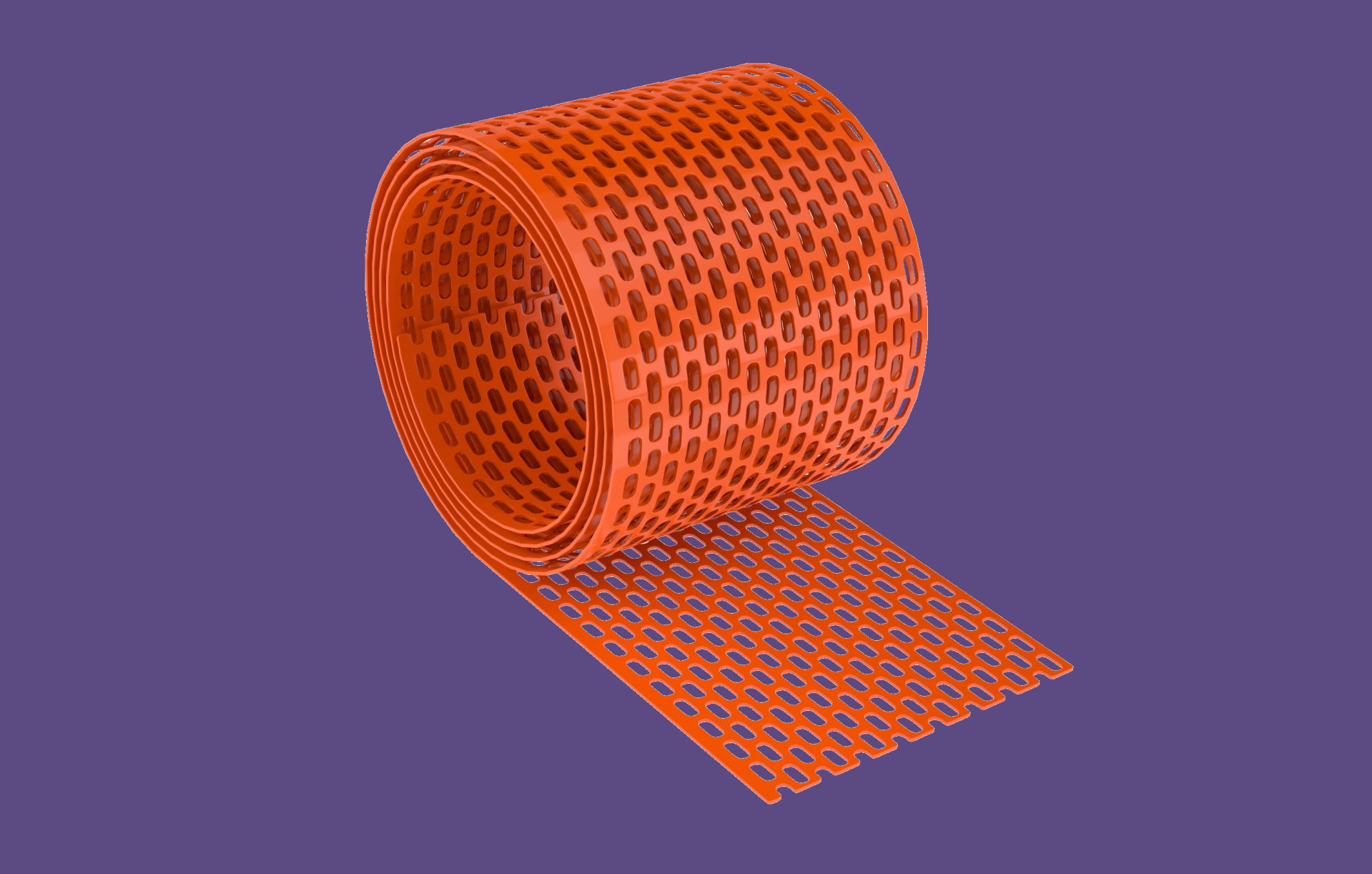Cserép kieg. szellőző szalag PVC 10cmx5m / téglavörös BAUplaza Kft.