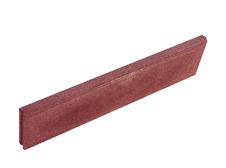 Beton kerti szegély 100x20x5 piros - DO(45db)Bar(51db)Epag(60db) BAUplaza Kft.