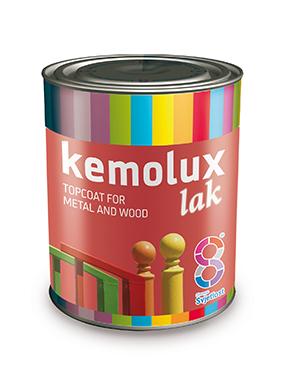 Kemolux magasfényű zománc L432 piros 2l BAUplaza Kft.