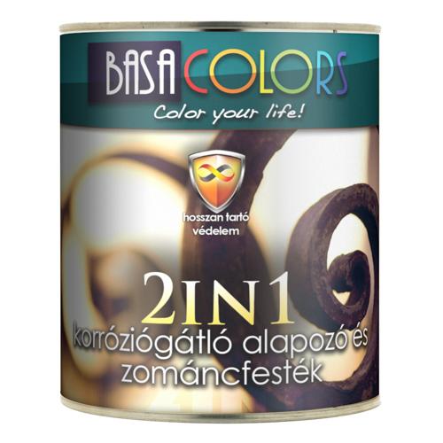 2 in 1 korralap+zománc mf vörösbarna 2,5l Basa Colors BAUplaza Kft.