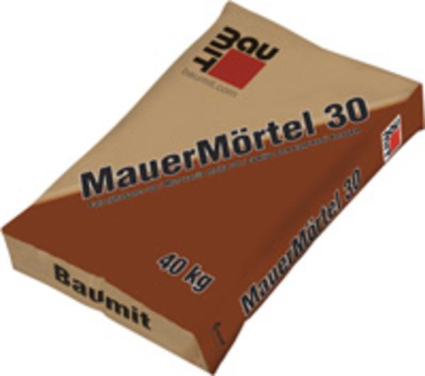 Baumit falazóhabarcs (MauerMörtel 30) 40 kg/zsák (35 zs/#) BAUplaza Kft.