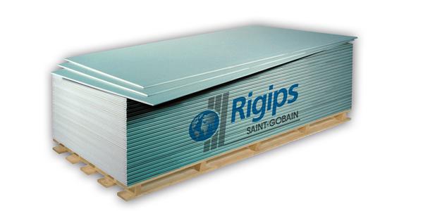 GK tábla impregnált 12,5mm - Rigips (2,5 m2/tábla) BAUplaza Kft.