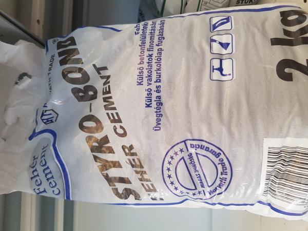 Fehér cement 2kg/zsák BAUplaza Kft.