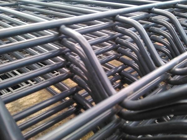 3D Táblás kerítés, antracit RAL7016, 4mm/1230x2505mm, (nr.1) BAUplaza Kft.