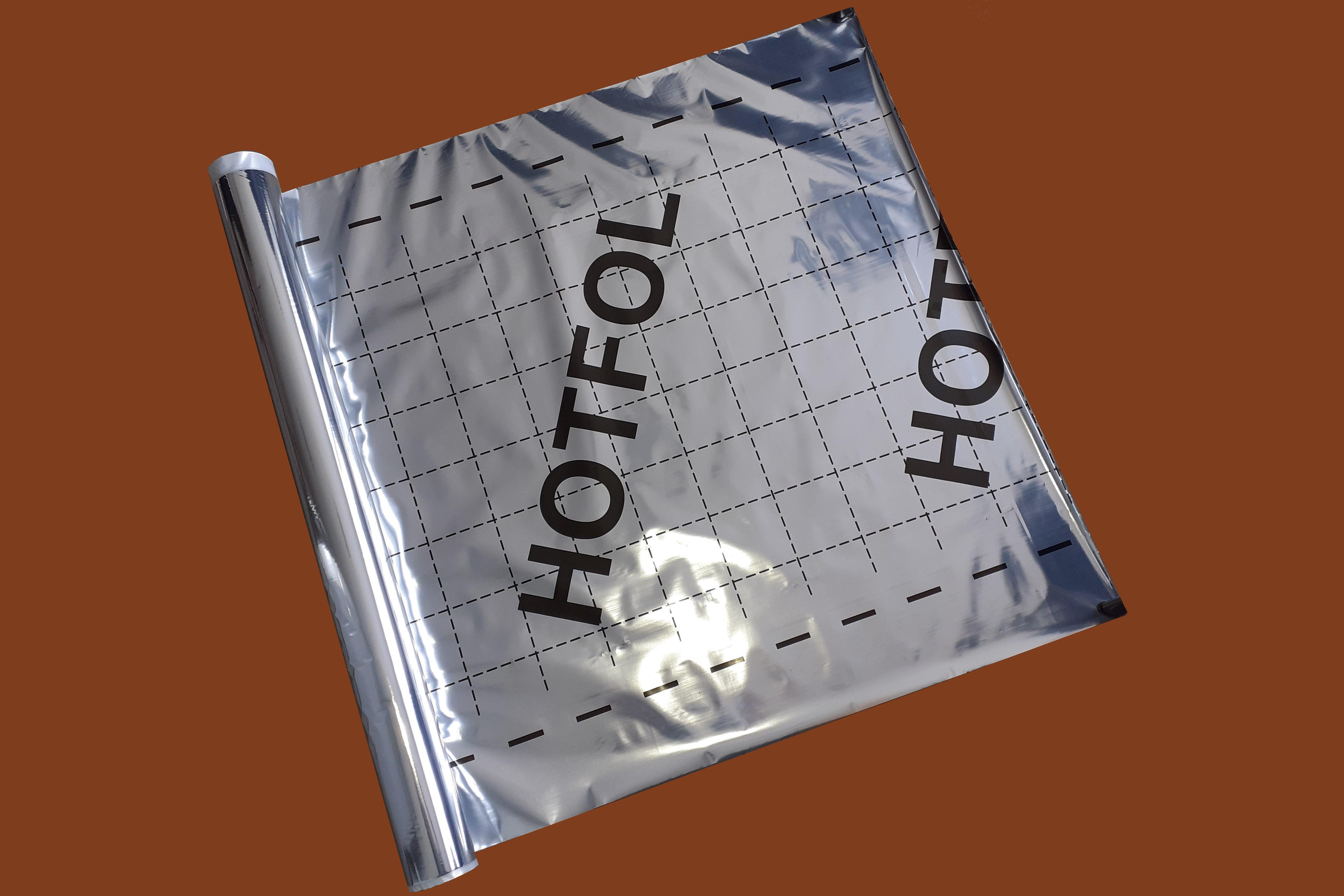 Fólia Hotfol padlófűtés alátétfólia (50m2) BAUplaza Kft.
