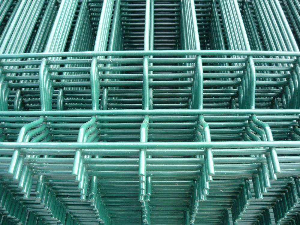3D Táblás kerítés, zöld RAL6005, 4mm/1230x2505mm, (nr.1) BAUplaza Kft.