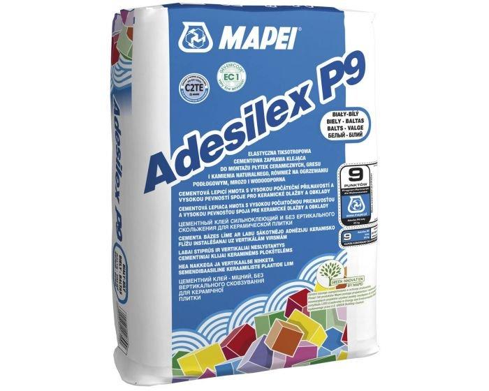 Mapei Csemperagasztó Adesilex fehér P9 flex 60x60 lapig(50zs/#) BAUplaza Kft.