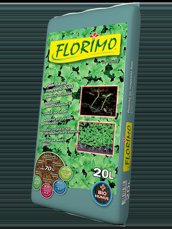 Florimo 20l Palánta és magvető föld BAUplaza Kft.