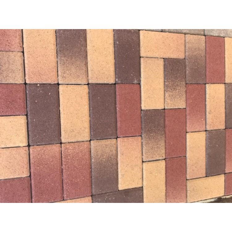 Térkő DoBeton 10x20 6cm-es őszilomb 9,6m2/# BAUplaza Kft.