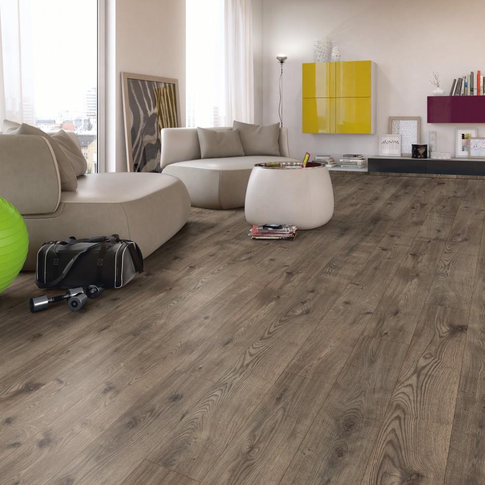 EGGER Basic Grey brown Grove Oak Laminált padló EBL019 1.99m2/csomag BAUplaza Kft.