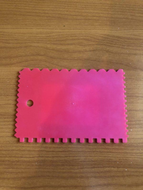 SCHULLER fogazott műanyag spatulya 9x13 BAUplaza Kft.