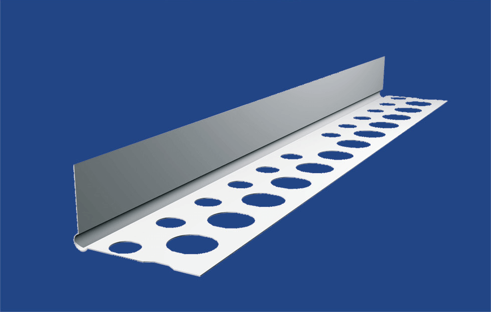 Alu élvédő félprofil 2,5m erősített (13x25mm) BAUplaza Kft.