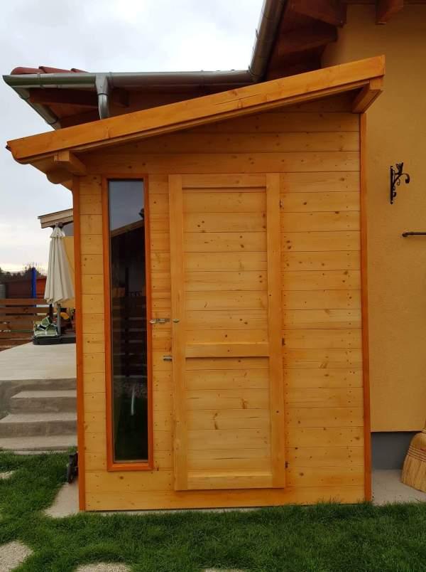 Szerszámtároló, faház, kerti tároló, rendelésre (2mx2m) BAUplaza Kft.