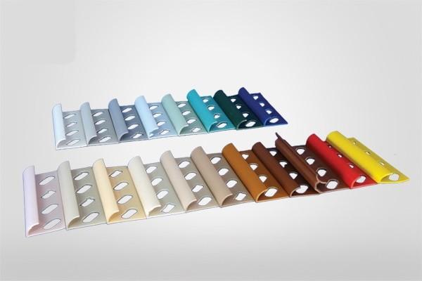 Cs élvédő PVC 8mm 01 fehér 2,5fm 18001 BAUplaza Kft.